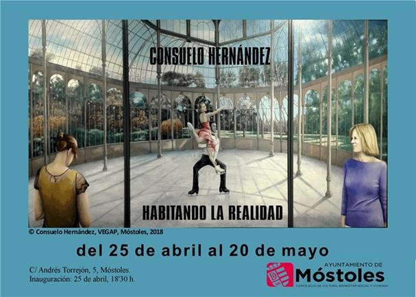 """Exposición individual """"Habitando la realidad"""", de Consuelo Hernández"""