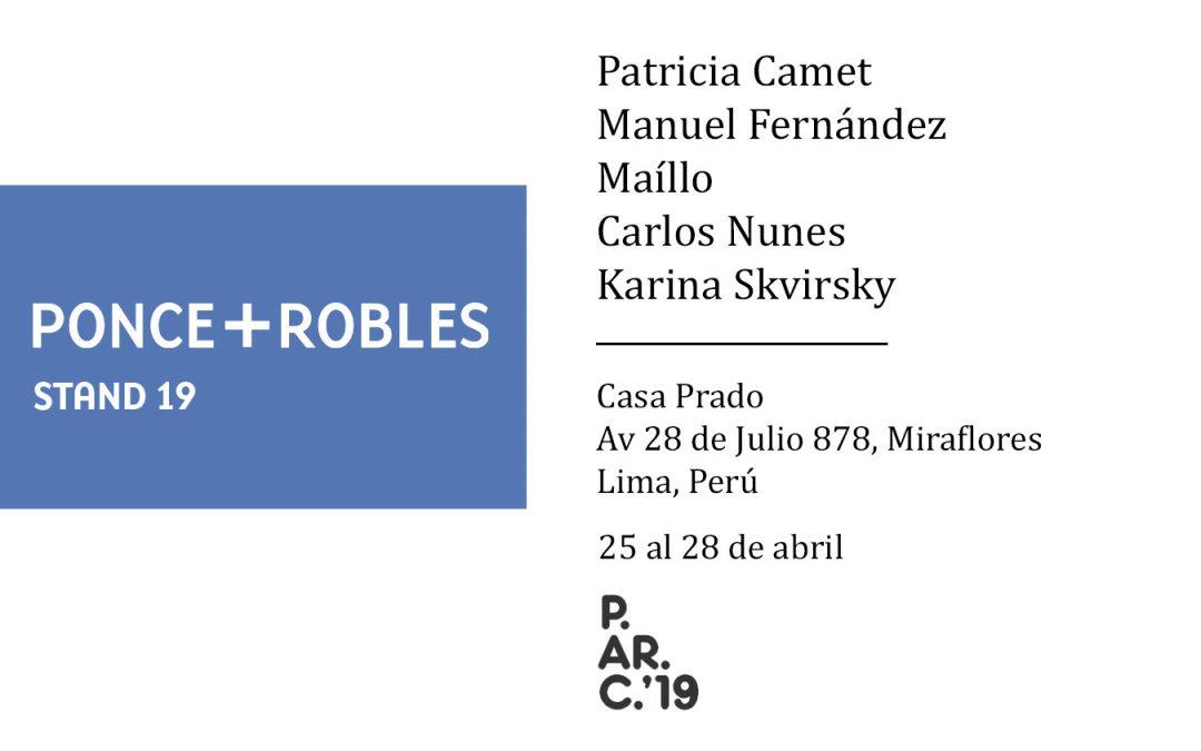 PArC LIMA 2019 | GALERÍA PONCE + ROBLES