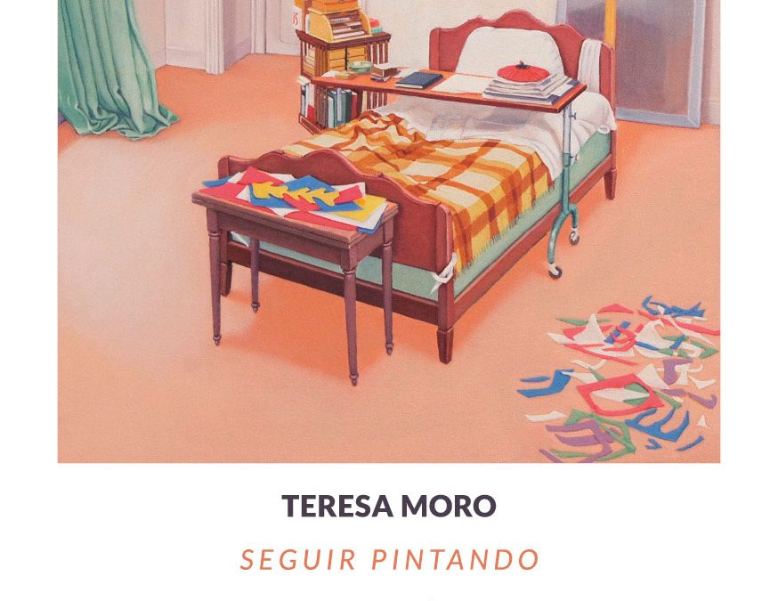 Este sábado a las 20:00 se inaugura 'Seguir pintando' de Teresa Moro en la galería Siboney de Santander.