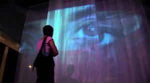 IN & OUT Vídeo-instalación. Metrònom Fundació Rafael Tous D'Art Contemporani Barcelona 2006