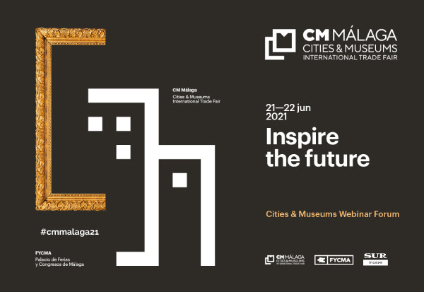 JORNADAS / CM Málaga presents the sixth session of the Cities & Museums Webinar Forum, an online meeting program held monthly until June 2021