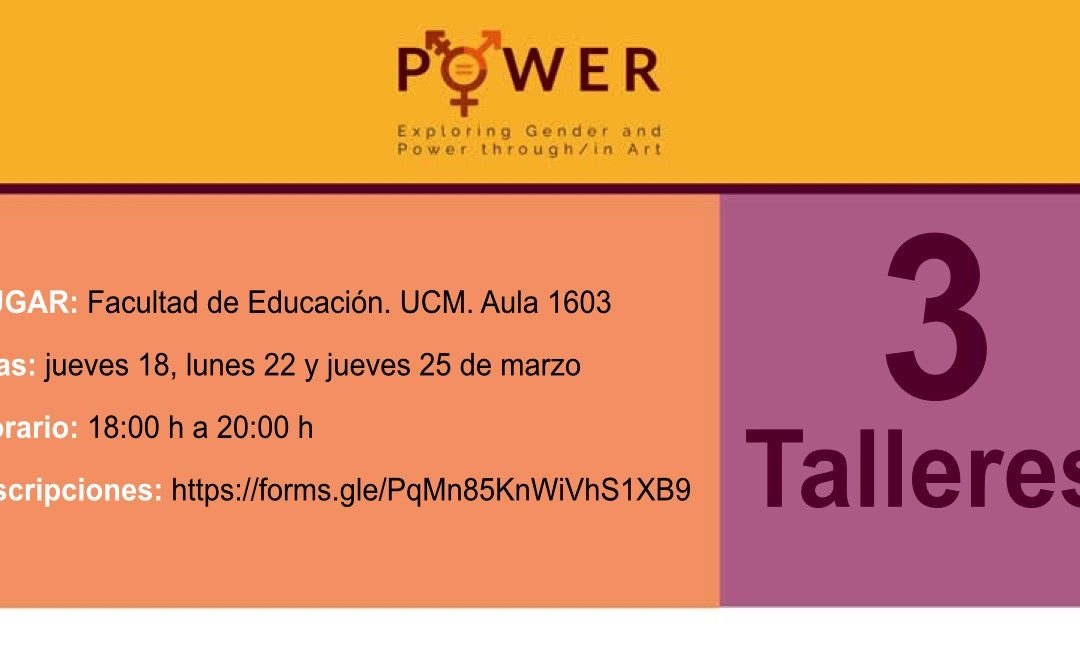 PROYECTOS / «POWER. Exploring Gender and Power thourgh/in Art»